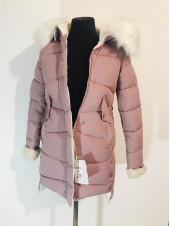 Зимняя куртка qianyu 1930 розовая