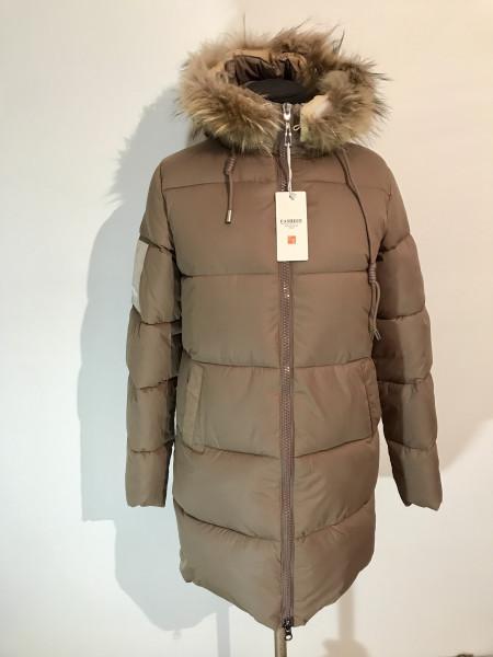 Зимові куртки жіночі fashion women з хутром