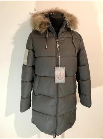 Куртка зимова жіноча Moon Mango з хутром