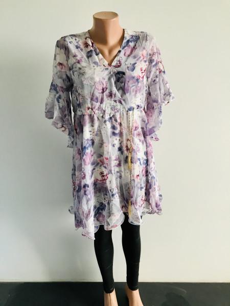 Женское платье молодежное из шифона duo mi